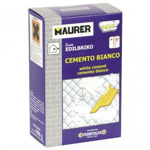 Maurer Edi White Cement (1 kg box)