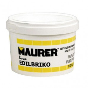 Maurer Edi White Plastic Putty (Container 0.5 kilos)
