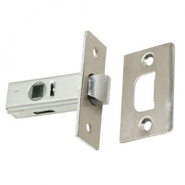 Latch Square Wolfpack Edge 35 mm. Stainless steel.