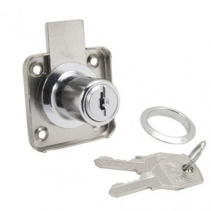 Furniture Lock For Drawer 361/25 Chromed
