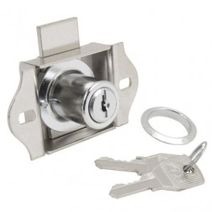 Furniture Lock For Drawer 301/55 Chromed