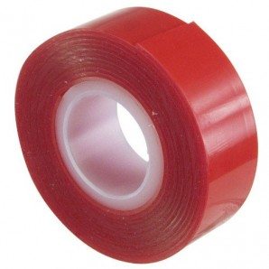 Wolfpack Transparent Double Sided Elastic Tape 1.5 m. x 19 mm.