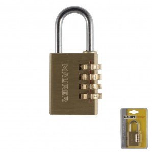 Wolfpack Brass Padlock Combination 40 mm.