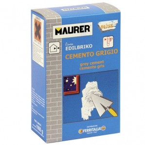 Maurer Edi Grey Cement (5 kg box)