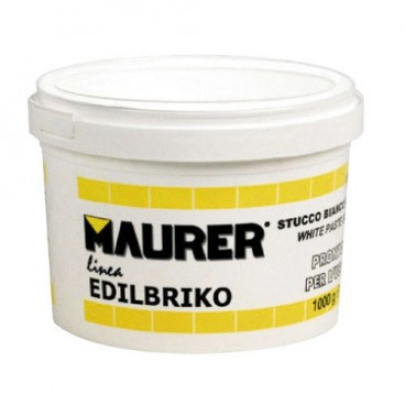 Maurer Edi White Plastic Putty (Container 1.0 kilo)