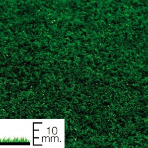 10 mm artificial turf. small surfaces Roll 1x10 Metres