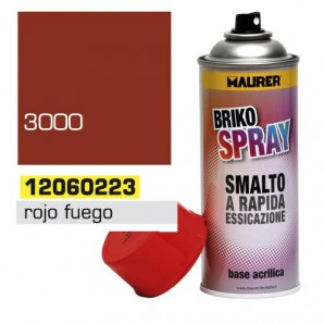 Spray Pintura Rojo Fuego 400 ml.