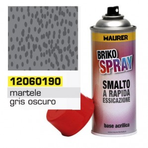Maurer Hammer Finish Dark Grey Spray 400 ml.
