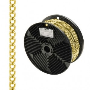 Barbada Decorative Gold Chain 2.0 mm. / Roll 20 Metres