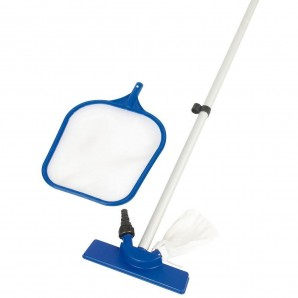 Swimming Pool bottom cleaner Maintenance Kit with extending handle, Basket and Pole