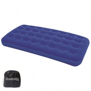 Single Inflatable Camping Mattress 188x99x22 cm.