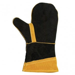 Papillon Leather Barbecue Gloves 34 cm. (1unit)