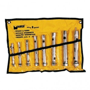 Set of Maurer Ring Spanners 8 Pieces