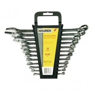 Set of Maurer Eco Combination Spanners 8 Pieces