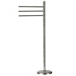 Maurer Floor Stainless Steel Flooring with 3 Hinged Bars