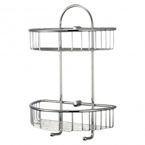 Rustproof small hanging basket Maurer Twin height 27x15x37 cm.