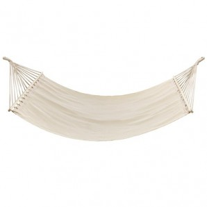 Hanging hammock with crossbar 2 people Natural