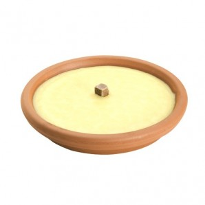 Citronella Mosquito Repellent Candle Terracotta Container 14 cm. / 120 Grams
