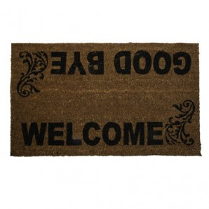 Doormat Oryx Fibre Coconut Welcome 45x75 cm.