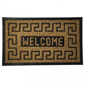 Doormat Oryx Fibre Coconut and Rubber Welcome 45x75 cm.