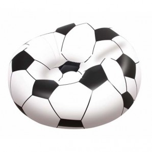 Inflatable Football Armchair 114x112x71 cm.