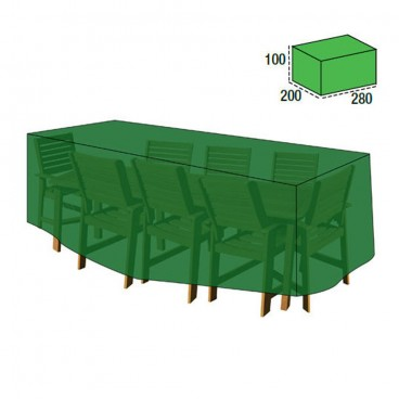 Cover Table Cover / Set 100x200x280 cm.