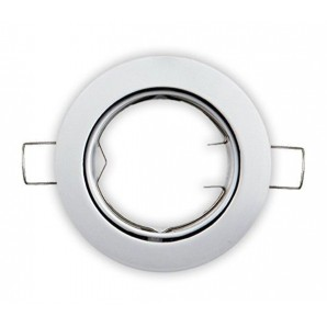 Rings recessed - aro empotrable orientable blanco