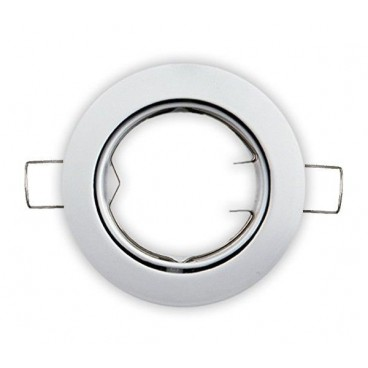 White round adjustable recessed ring GU10 GSC 0700658