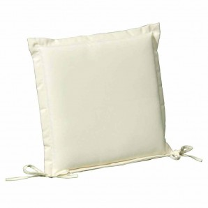 Cushion For Seat 50x50x5 cm. Beige with Removable Cover