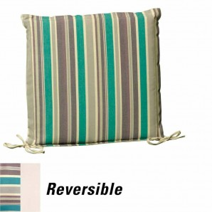 Cushion For Seat 50x50x5 cm. Stripes with removable cover