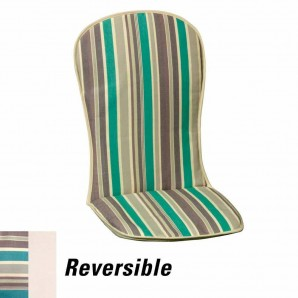 Cushion For Low Armchair 95x42x1.5 cm. Stripes