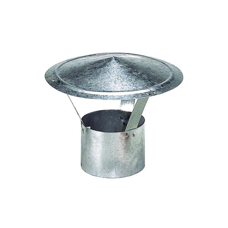 Hat Galvanized Stove of 100 mm.