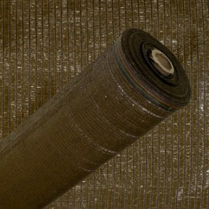 Shaded Brown Mesh Roll 100 metres 1.0 metre