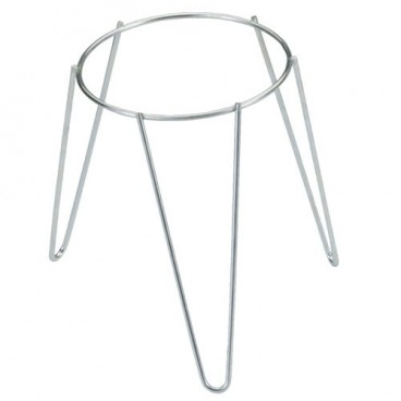 Galvanised Freestanding Plant Pot Foot Stand 20 cm