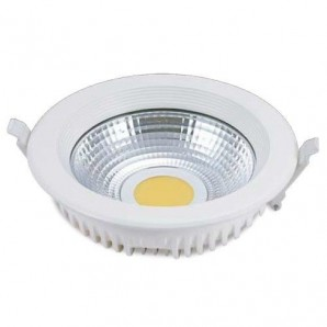 Downlight LED empotrable redondo 25W 2200lm 4200K blanco GSC 0701975