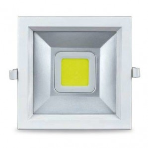 Downlight empotrable de led 30W 2700lm cuadrado GSC 0702106