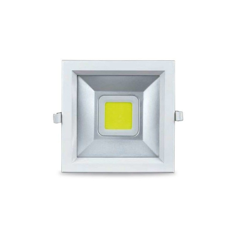Downlight empotrable de led 30W cuadrado