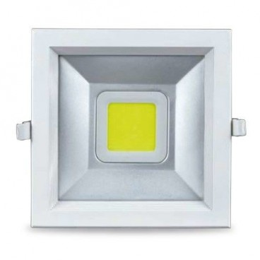 Recessed square downlight LED 30W 2700lm 4200K white GSC 0702106