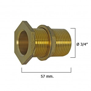 Threaded Deposit Output Device 3/4""