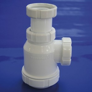 Extendable sump bottle T-4 1 1/2 Loose Nut