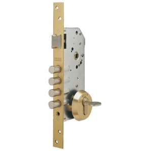 Tesa Security Lock R100b566 Chrome