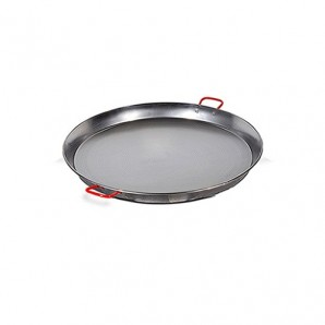 34-cm Valencian Paella Pan. Polished For 6 People