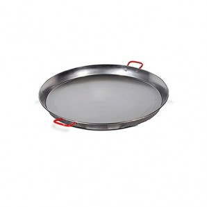 36-cm Valencian paella pan Polished For 7 People