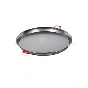 38-cm Valencian Paella Pan. Polished For 8 People