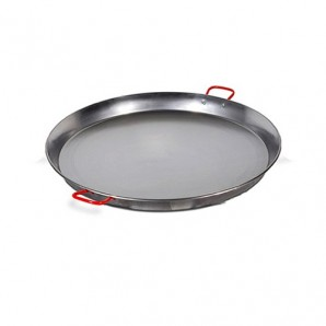 70-cm Valencian Paella Pan. Polished For 25 People