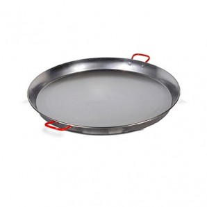 80-cm Valencian Paella Pan. Polished For 40 People