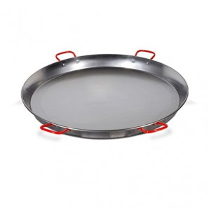 100-cm Valencian paella pan. Polished for 85 People