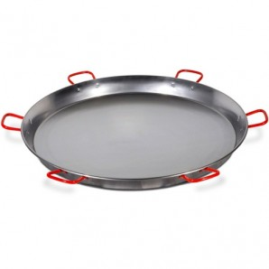 130-cm Valencian Paella Pan. Polished for 200 People