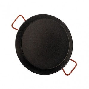 38-cm Non-Stick Valencian Paella Pan For 8 People.