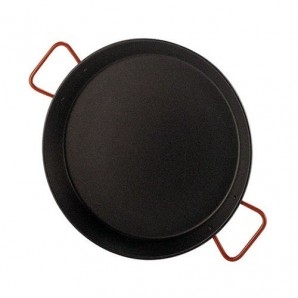 46-cm Non-Stick Valencian Paella Pan For 12 People.